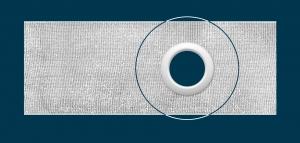 TZ18 ширина: 10 cм; люверсная тесьма; количество метров в рулоне: 50